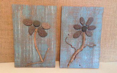 Wood & Beach art