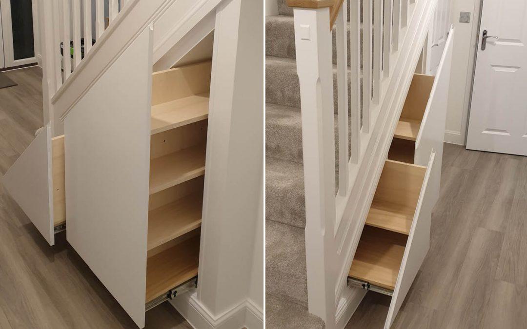 Under stair drawer units