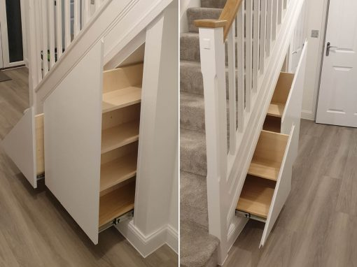 Under stair drawer units