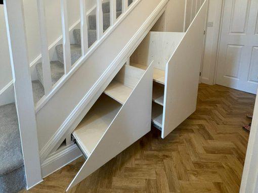 Under stair drawer