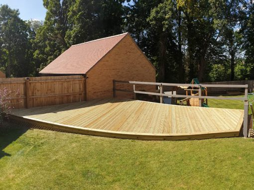 Treated Timber Deck